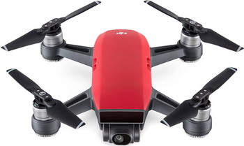 Квадрокоптер DJI Spark Combo Lava Red квадрокоптер dji spark fly more combo alpine white