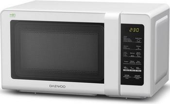Микроволновая печь - СВЧ Daewoo Electronics KOR-662 BW Белая  микроволновая печь свч daewoo electronics kor 6l6b