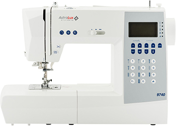 Швейная машина Astralux 9740 швейная машинка astralux 156