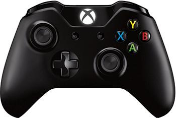 Геймпад Microsoft Xbox One (6CL-00002) черный