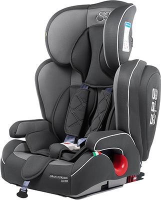 Автокресло Sweet Baby Gran Turismo SPS Isofix Grey 386 008 машинки autotime машина bavaria gran turismo пожарная охрана