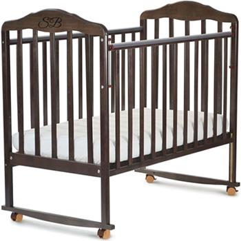 Детская кроватка Sweet Baby Lorenzo Wenge (Венге) 378 157