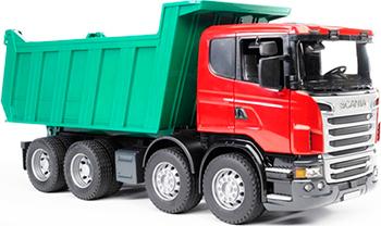 Самосвал Bruder Scania 03-550 bruder лесовоз scania