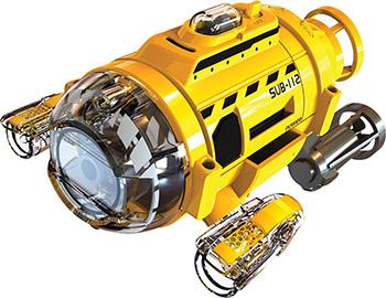 Подводная лодка Silverlit Подводная лодка ИК с камерой 82418 вертолёт silverlit 4 х канальный феникс ик 84730s