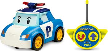Машинка Robocar Poli Поли на р/у (15см) robocar игрушка металл машина марк поли 6 см robocar