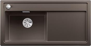 Кухонная мойка BLANCO ZENAR XL 6S (чаша слева) SILGRANIT кофе с кл.-авт. InFino 523983 мойка zenar xl 6 s anthracite right 519271 blanco