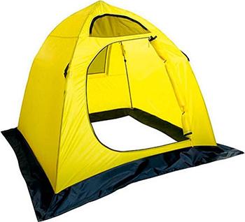 Палатка рыболовная зимняя Holiday EASY ICE 180х180 желтый зимняя палатка медведь 4 купить