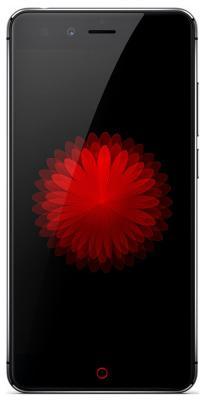 Мобильный телефон ZTE Nubia Z 11 Mini черный запчасти для мобильных телефонов zte z5 mini nx40x nubia z5 mini