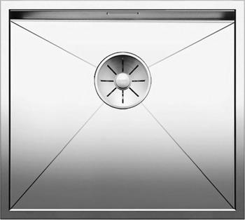 Кухонная мойка BLANCO ZEROX 450-IF нерж. сталь зеркальная полировка 521586 blanco zerox 450 u нерж сталь зеркальная