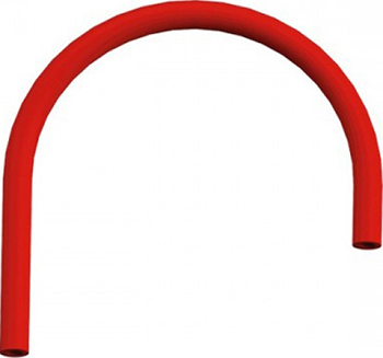 Сменный гибкий шланг OMOIKIRI OT-01- красный