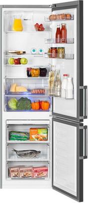 Двухкамерный холодильник Beko RCNK 356 E 21 X холодильник beko rcnk365e20zx двухкамерный нержавеющая сталь