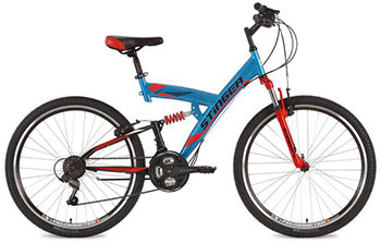 Велосипед Stinger 26 SFV.BANZAI.20 BL8 26'' Banzai 20'' синий велосипед stinger valencia 2017