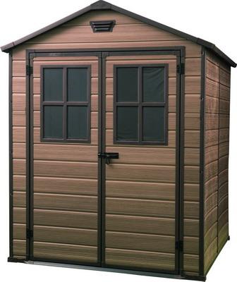 Хозяйственный блок Keter SCALA 6x8 коричневый 17202394 keter