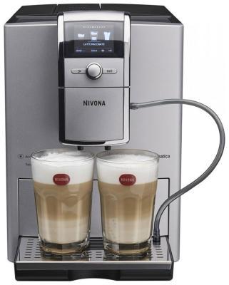 Кофемашина автоматическая Nivona NICR 842 серебро/черный кофемашина автоматическая nivona nicr 660 черная