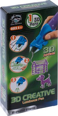 3D-ручка 3D Making светящиеся чернила цвет фиолетовый 1CSC 20003390 gangxun фиолетовый цвет