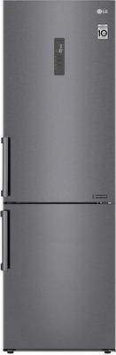 Двухкамерный холодильник LG GA-B 459 BLGL темный графит трия шкаф нижний с планками для формирования угла графит темный н 72 90 1дрпу