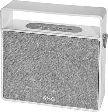 Портативная акустика AEG BSS 4830 weis aeg bss 4833 white grey беспроводная акустическая система