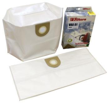Набор пылесборников Filtero VAX 01 (2) ЭКСТРА набор пылесборников filtero brk 01 3 экстра