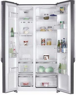 Холодильник Side by Side Kraft KF-F 2661 NFL холодильник kraft kf f2661nfl