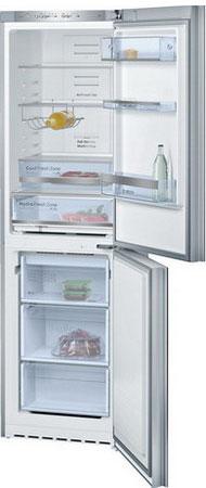 Двухкамерный холодильник Bosch KGN 39 SM 10 R холодильник bosch kgn39nw13r двухкамерный белый