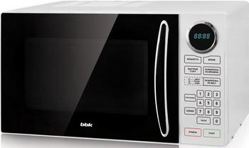 Микроволновая печь - СВЧ BBK 23 MWS-916 S/BW микроволновая печь свч bbk 23 mwg 930 s bw чёрный белый