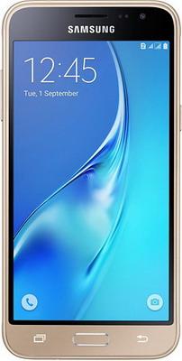 Мобильный телефон Samsung Galaxy J3 (2016) SM-J 320 F 8GB золотой смартфон samsung galaxy j7 2016 sm j710fn gold