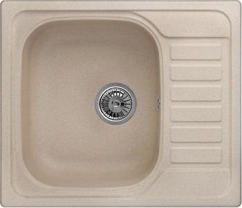 Кухонная мойка Weissgauff QUADRO 575 Eco Granit бежевый  цена и фото