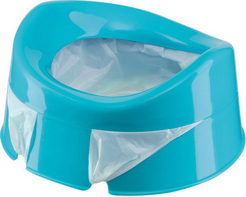 Горшок Happy Baby MINI POTTY 34004 blue happy baby санки slidex цвет серый