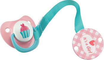 Соска для бутылочек Happy Baby BIMBO 13007 Pink пустышка happy baby bimbo с держателем