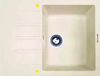 Кухонная мойка Zigmund amp Shtain RECHTECK 645 топленое молоко