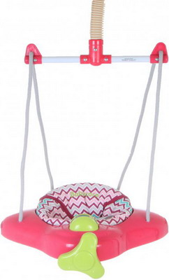 Прыгунки Baby Care Aero Raspberry Stripe