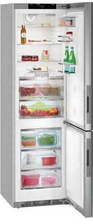 Двухкамерный холодильник Liebherr CBNPgb 4855 встраиваемый двухкамерный холодильник liebherr icbs 3224