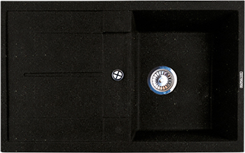 Кухонная мойка LAVA L.6 (LAVA чёрный металлик) цена