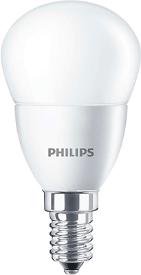 Лампа Philips CorePro lustre ND 4-25 W E 14 840 P 45 FR led лампа philips corepro ledbulb 9 60w no dim