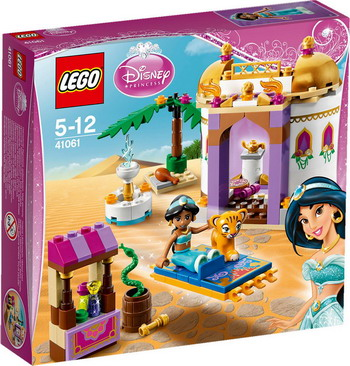 Конструктор Lego Disney Princesses Экзотический дворец Жасмин 41061 lego lego disney princesses 41066 анна и кристоф прогулка на санях