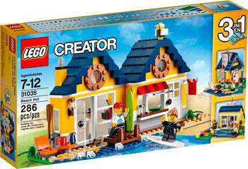 Конструктор Lego Creator Домик на пляже 31035 женская жилетка 31035 2014 pu