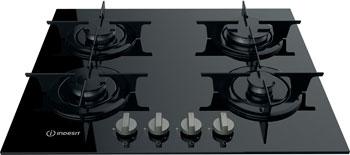 Встраиваемая газовая варочная панель Indesit PR 642 /I (BK) встраиваемая электрическая панель indesit vra 641 dbs