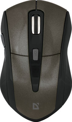 Мышь Defender Accura MM-965 коричневый (52968)
