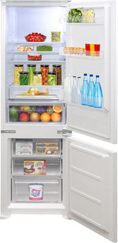 Встраиваемый двухкамерный холодильник Zigmund amp Shtain BR 03.1772 SX