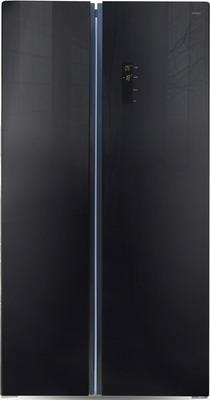 Холодильник Side by Side Ginzzu NFK-605 черный холодильник side by side samsung rs57k4000sa