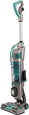 Пылесос аккумуляторный Kitfort КТ-521-3 серо-зеленый ручной пылесос handstick kitfort кт 517 3 120вт зеленый серый