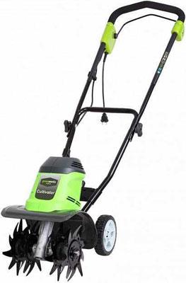 Электрический культиватор Greenworks GTL 9526 27017