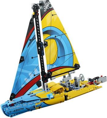 Конструктор Lego Technic: Гоночная яхта 42074 волченко ю пер супергерои безумный зоопарк игры с наклейками для детей от 8 лет