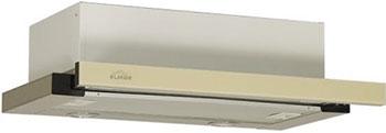 Встраиваемая вытяжка ELIKOR Интегра GLASS 45Н-400-В2Д КВ II М-400-45-247 нерж./стекло бежевое цена и фото
