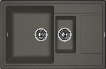 Кухонная мойка Florentina Липси 780К антрацит FSm zumman fsm 881