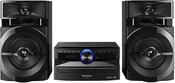 Музыкальный центр Panasonic SC-UX 100 EE-K минисистема panasonic sc akx200 black sc akx200e k