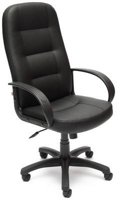 Кресло Tetchair DEVON (кож/зам черный PU-C 36-6) кресло tetchair devon кож зам черный черный перфорированный 36 6 36 6 06