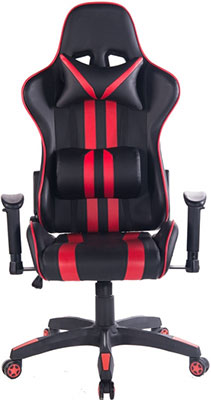 Кресло Tetchair iCar кож/зам черный/красный icar obdii elm327 bluetooth car diagnostic tool white green