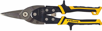 Ножницы по металлу Stanley FATMAX ERGO FMHT 73756-0 прямые 250 мм 73756-0 зубило по металлу stanley fatmax 25 х 305 мм