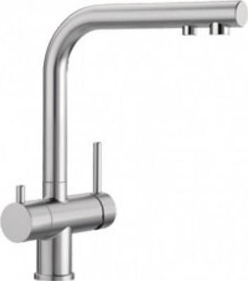 Кухонный смеситель BLANCO FONTAS II нержавеющая сталь 525138 кухонный смеситель blanco fontas ii хром
